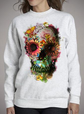Женский свитшот Skull 2