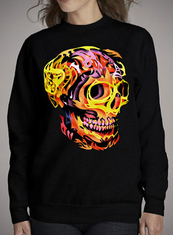 Женский свитшот Skull V