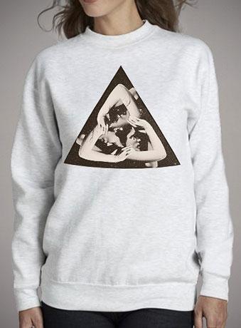 Женский свитшот Triangle
