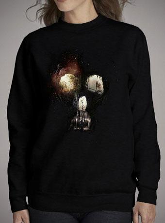 Женский свитшот Cave Skull