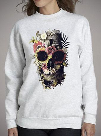 Женский свитшот Garden Skull