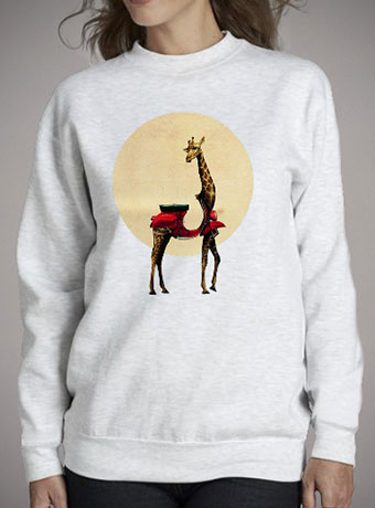 Женский свитшот Giraffe