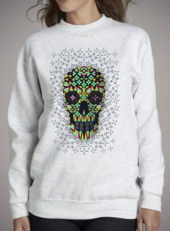 Женский свитшот Skull 6