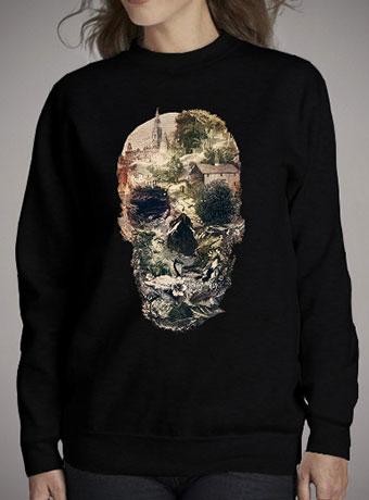 Женский свитшот Skull Town