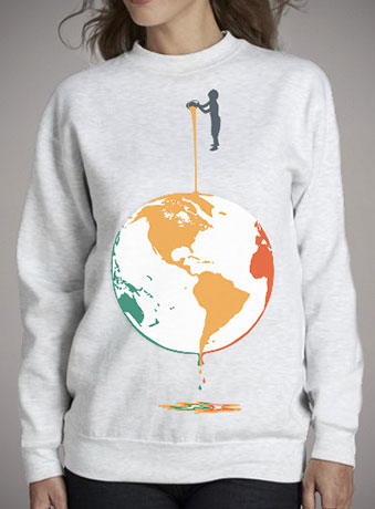 Женский свитшот Fill Your World With Colors