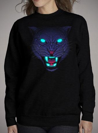 Женский свитшот Electric Panther