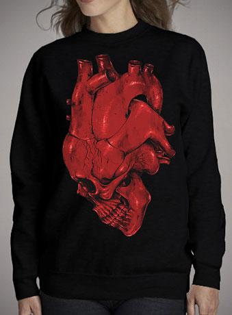 Женский свитшот Skull of Heart