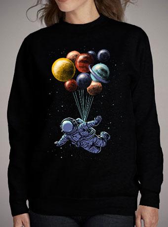 Женский свитшот Space Travel