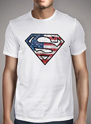 Футболка Superman American Logo