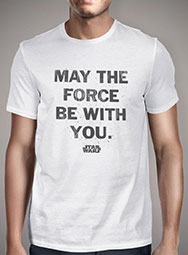 Мужская футболка May the Force Be With You Distressed