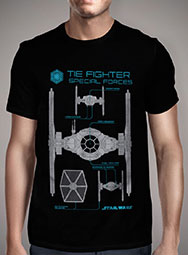 Мужская футболка Special Forces Tie Fighter