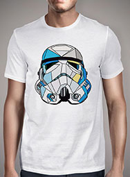 Мужская футболка Stained Glass Stormtrooper