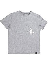 Мужская футболка с висящим котом Hanging FuckOff-Cat