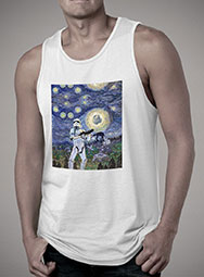 Мужская майка Stormtrooper Starry Night