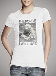 Женская футболка The Force I Will Use